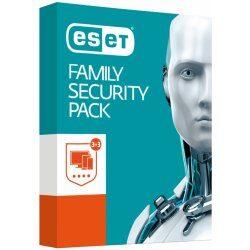 Nejlevnější ESET Family Security Pack 3 licence