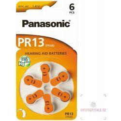 Nejlevnější Panasonic baterie do naslouchadel 6ks PR13(48)/6LB