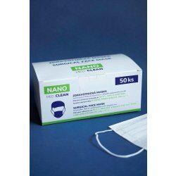 Nejlevnější Nano Medical Nanovlákenná rouška Nano Med.Clean bílá 50 ks