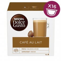 Nejlevnější Nescafé Dolce Gusto Café Au Lait kávové kapsle 16 ks