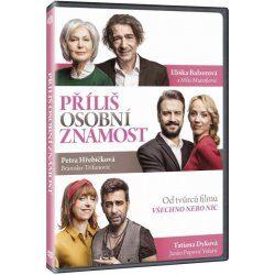 Nejlevnější Příliš osobní známost DVD